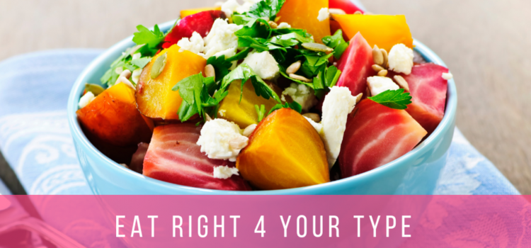 East Right Fruit Bowl Blood Type Diet