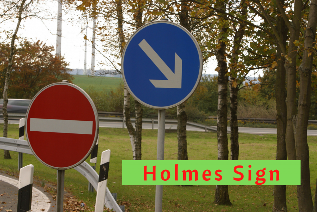 Holmes Sign Multiple Sclerosis Indicator