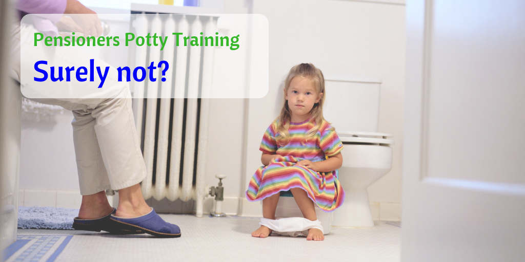 Potty Training a young girl to begin bowel training