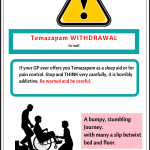 Temazepam is a benzodiazepine and horribly addictive. Dangerous drug