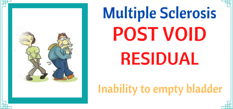 Multiple Sclerosis Post Void Residual Volume
